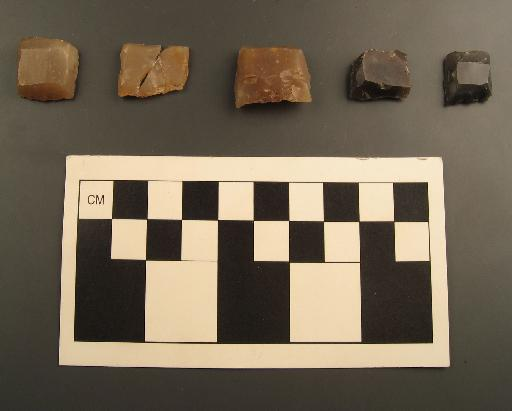 English and French gunflints